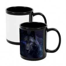 11OZ BLACK  MUG - 1 CASE = 36