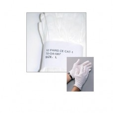 COTTON GLOVES (10 PAIR)