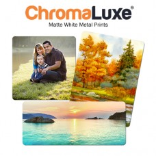 CHROMALUXE AL 5X7 MATTE WHITE - 1 CASE = 10