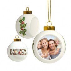 CHRISTMAS BALL ORNAMENT - 1 PACKAGE=12