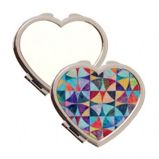 HEART COMPACT MIRROR - 1 PACKAGE= 20