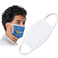 Face Mask Large White / White Trim
