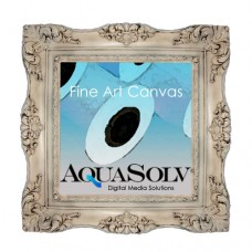AQUASOLV BRIGHT WHITE  POLY/COTTON CANVAS 21MIL  24X40 MATTE