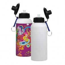 600ML WHITE WATER BOTTLE - 1 PACKAGE=6