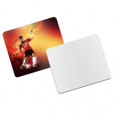 WHITE MOUSE PAD - RECTANGLE - 1 PACKAGE =50