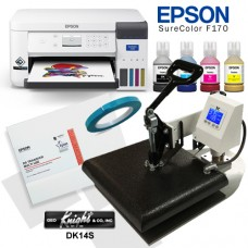 Epson F170 & Geo Knight Sublimation Bundle Package
