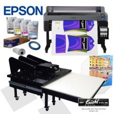 Epson F6370 & Geo Knight Sublimation Bundle Package